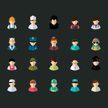 medical headwear: Collection of people and occupation