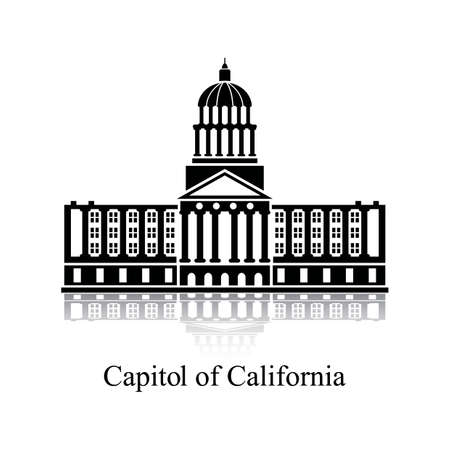 historical building: Capitol of california