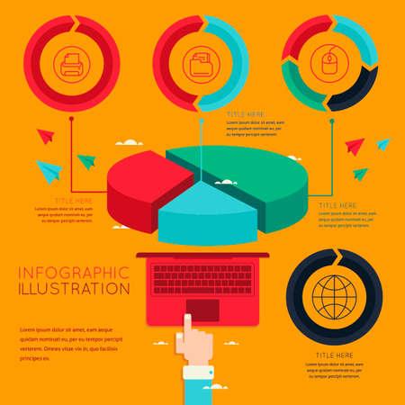 technology: Technology infographic Illustration