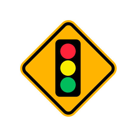 stoplight: Traffic signal