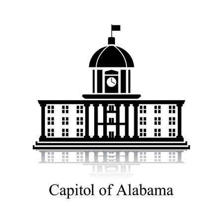 built structure: Capitol of alabama