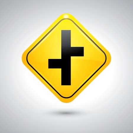 offset: Offset road sign
