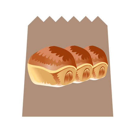 bun: Cream filled bun