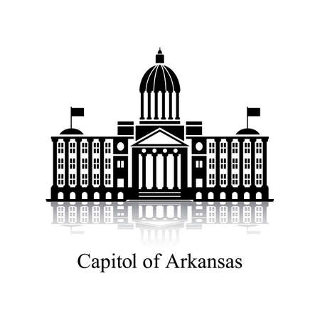 the capitol: Capitol of arkansas