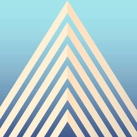 shape triangle: Abstract background Illustration