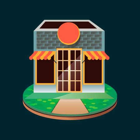 store: Shop store Illustration