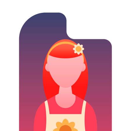 beautician: Beautician Illustration
