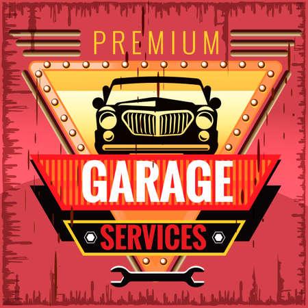 garage: Garage services design