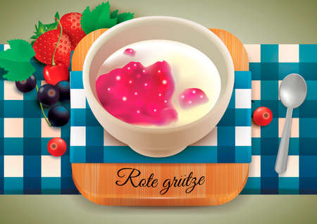 rote: Rote grutze Illustration