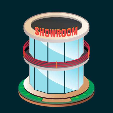 car showroom: