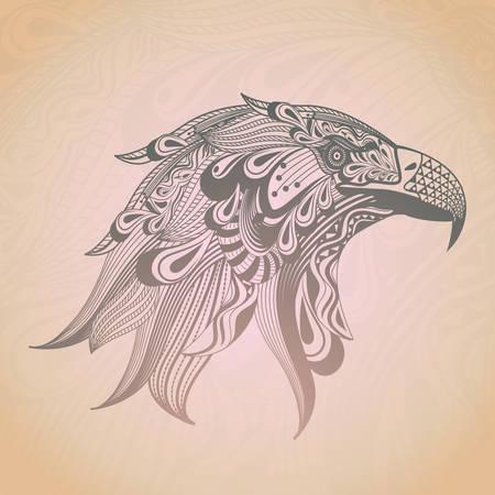Stylized eagle design