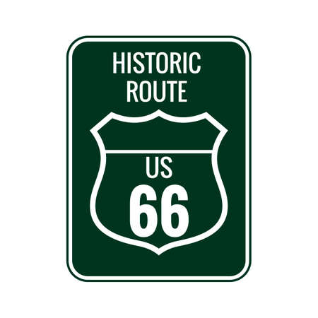 66: Historic route 66 sign