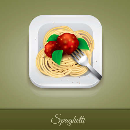 twirled: Spaghetti Illustration