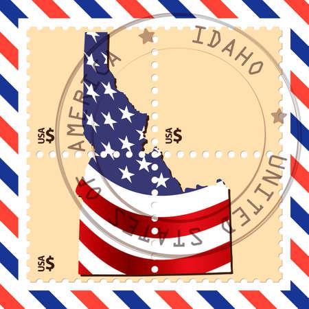 idaho: Idaho stamp