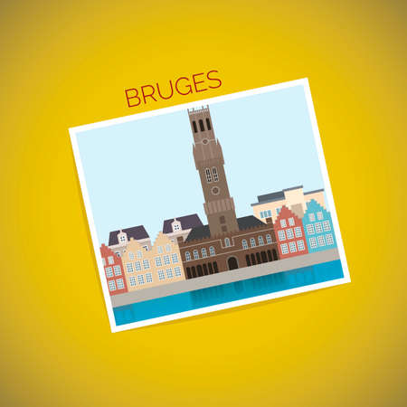 bruges: Bruges Illustration