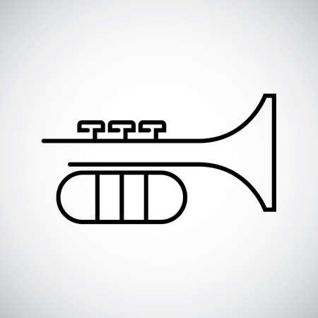 Trumpet Imagens - 45399119