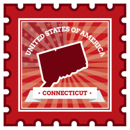 philately: Connecticut postage stamp