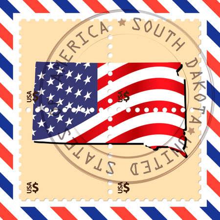 dakota: South Dakota stamp