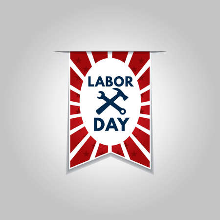 pennant: Labor day pennant