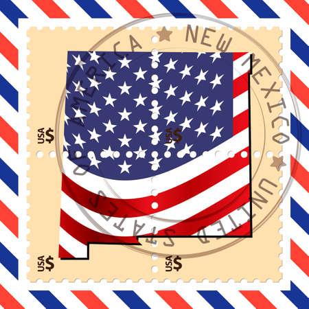 philately: New Mexico stamp