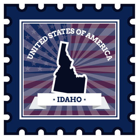 idaho: Idaho postage stamp