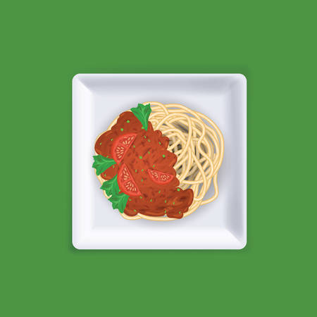 Spaghetti Ilustração