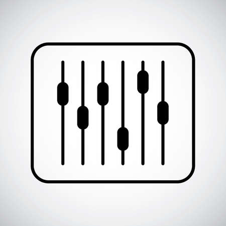 volume: Volume control slider bars