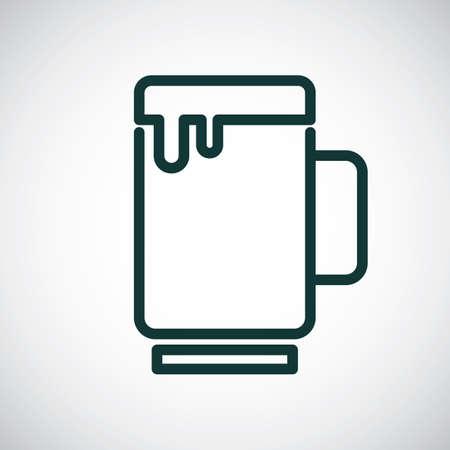 lightweight: Beer Illustration
