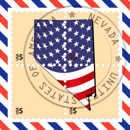 nevada: Nevada stamp