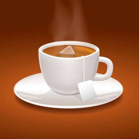 hot cup: Cup of tea
