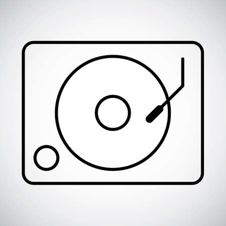 lightweight: Vinyl turntable