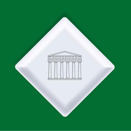 concordia: Temple of concordia Illustration