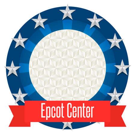 center: Epcot center