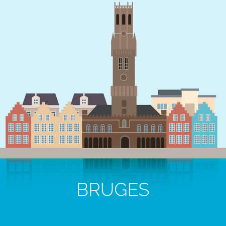 Bruges Иллюстрация