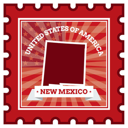 sello postal: Nuevo M�xico sello de correos