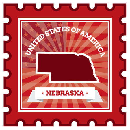 nebraska: Nebraska postage stamp