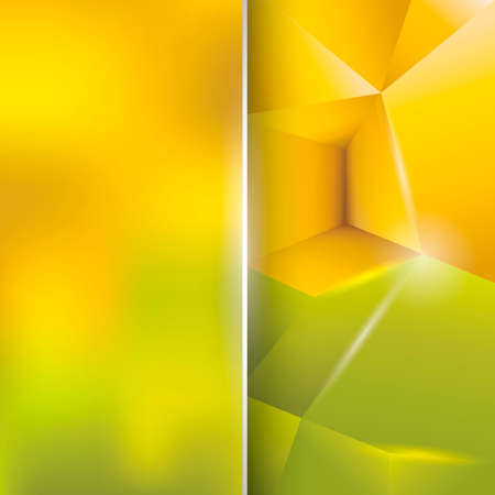faceted: Abstract faceted background