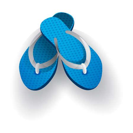 flip flops: Flip flops Illustration