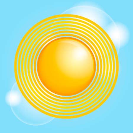 sunrays: Sun Illustration