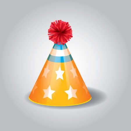 Partij hoed Vector Illustratie