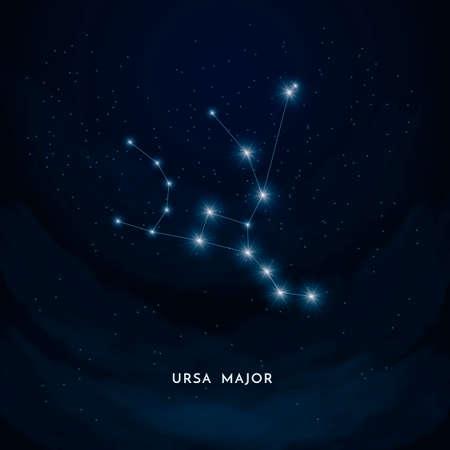constelacion: Ursa importante constelaci�n Vectores