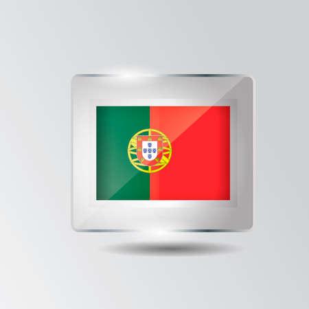 portugal: Portugal icon Illustration