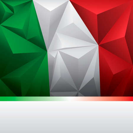 italy background: Background with italy flag
