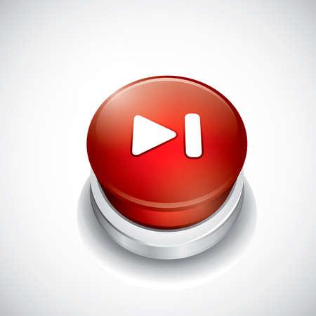 next button: Next button Illustration