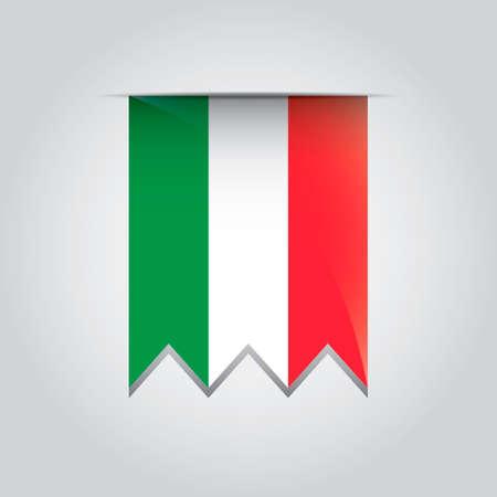 pennant: Italy pennant Illustration