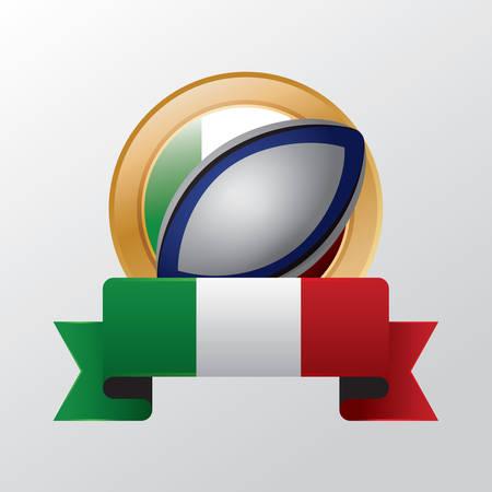 rugby ball: Pelota de rugby