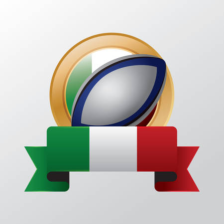 rugby ball: Rugby ball Illustration