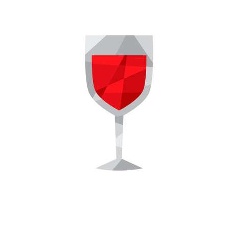 port wine: Wine glass Illustration