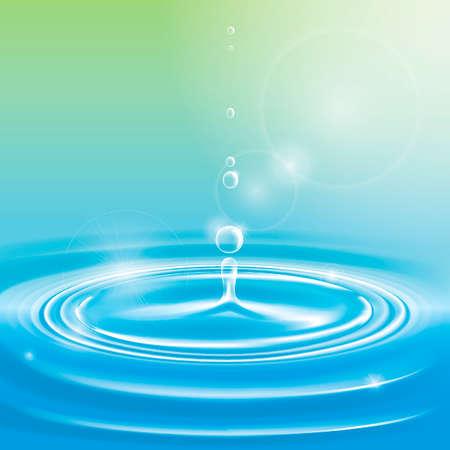 ripple: Water ripple Illustration