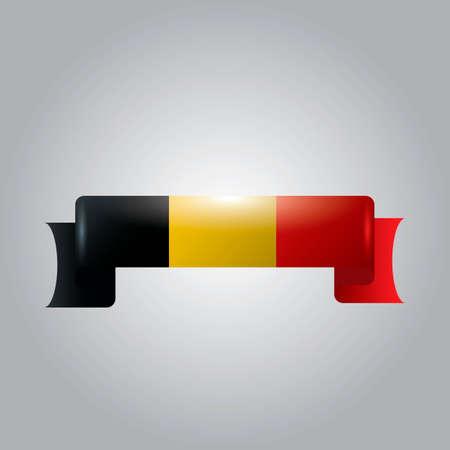 ribbon: Belgium ribbon